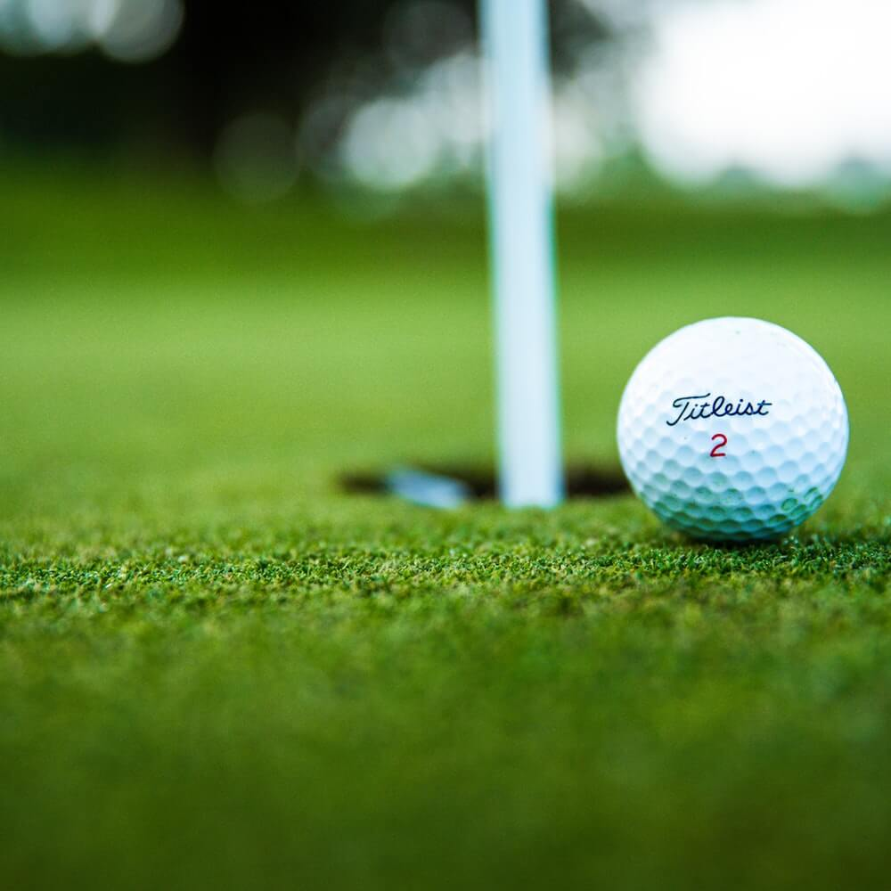 Close-Up Photo of Golf Ball